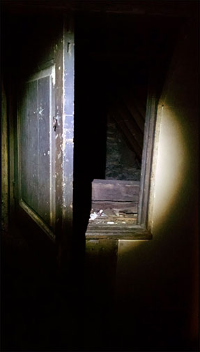 The secret room in the attic
